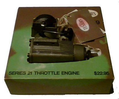 Testors Mc Coy 19 Throttle Engine - R.C.