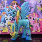 14cm PVC Unicorn Princess Luna Celestia Rainbow Horses Action Figures Kawaii Unicorn