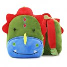 Children School Backpack Cartoon Rainbow Unicorn Design Soft Plush Material