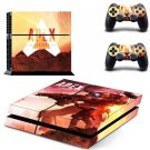 APEX PS4 Skin Vinyl Decal Sticker Set for Sony Playstation 4 Console and Two Controller Cover