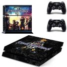 PS4 Skin Sticker Kingdom Hearts 3 Vinyl PS4 Skins for PlayStation 4 Console and 2 Controllers