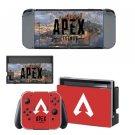 APEX Vinyl Decal Skin Nintendo Switch Decal Sticker for Nintendo Switch Skins Set