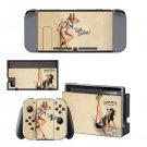 Vinyl Decal Skin Nintendo Switch Sticker Set for Nintendo Switch