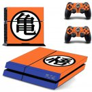 Anime Dragon Ball Goku Decals Vinly PS4 Skin Cover Sticker Cover for Sony PS4 PlayStation 4