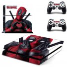 Deadpool PS4 Skin Vinyl Decal Deadpool Stickers for Sony Playstation 4