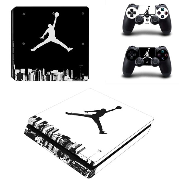 PS4 Vinyl Skin Air Man: Jordan Decals PS4 Sticker for Sony Playstation 4 Stickers
