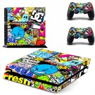 Colorful Decals Vinly PS4 Skin Cover Sticker Cover for Sony PS4 Skin