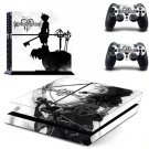 Anime Kingdom Hearts Skin Sticker For Sony PS4 and 2 Controllers Skin Decals