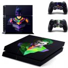 Batman: Joker Ps4 Skin Sticker Case Cover for Sony PlayStation 4 and for Two PS4 Controllers
