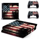 USA Flag America Vinyl Decal Flag Sticker For Sony PlayStation 4 Skin Stickers