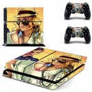 GTA 5 PS4 SKIN GRAND THEFT AUTO V Sticker Cover for Sony PS4 PlayStation 4 and 2 controller