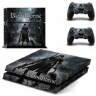 Bloodborne Vinly PS4 Skin Cover Sticker Cover for Sony PS4 PlayStation 4 and 2 controller