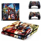 Vinyl Decal Skin Sticker Cover of Avengers for Sony PS4 PlayStation 4 and 2 controller skins