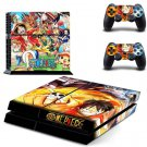 Anime One Piece Vinyl Skin Sticker For Sony PS4 PlayStation 4 and 2 Controlle Decal skins