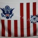 USA Coast Guard Ensign Flag hot sell goods 3X5FT 150X90CM Banner brass metal holes