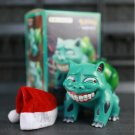 Pocket Monste Bulbasaur Figure Statue Smile Wretched Ver Q Cute Detective Anime Doll Toys