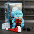 Pocket Monste Squirtle Figure Statue Smile Wretched Ver Q Cute Detective Anime Doll Toys
