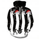 2019 Newest 3D Print Christmas Halloween Skull Theme Pullover Hoodies