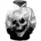 Newest Skull Print 3D Hooded Pullovers Full Sleeve Winter Autumn Hoodies Sporting Tracksuits