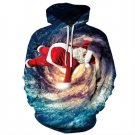 2019 New Chirstmas Theme Hoodies Women Funny Santa Claus Print Full Sleeves Pocket Pullovers