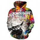 New And Hot New Dope Harajuku Print Hoodies Sweatshirts Women Loose Plus