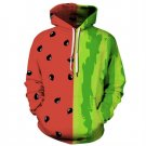 Watermelon Fruits Print Women Hoody Winter Autumn Sweatshirt Femmes 3d Streetwear
