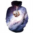 Fashion Causal Winter Jackets Women Choloequs Didactylus in Space 3d Print Hooded Sweatshirt