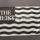 The Heist Stripe Flag 3x5FT banner 100D 150X90CM Polyester