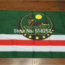 Flag of Chechnya Republic Russia State Flag 3x5FT banner 100D Polyester flag