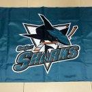San Jose Sharks 3*5ft (90cm*150cm) Polyester flag Banner American decoration