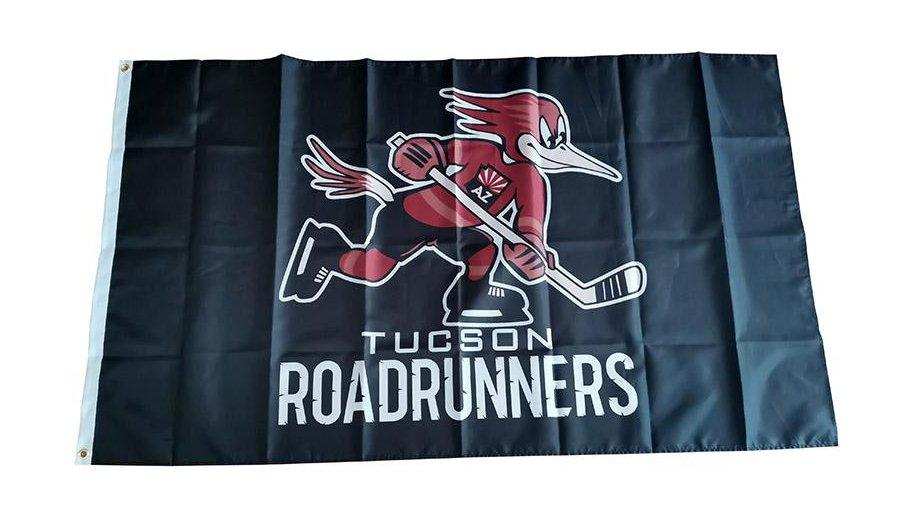 AHL Tucson Roadrunners Flag 3*5ft (90cm*150cm) Polyester flag Banner decoration