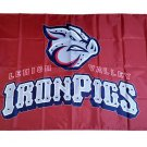 MiLB Lehigh Valley IronPigs Flag 3*5ft (90cm*150cm) Polyester flag Banner