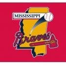 MiLB Mississippi Braves Flag 3*5ft (90cm*150cm) Polyester flag Banner