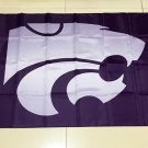 NCAA Kansas State Wildcats polyester Flag banner 3ft*5ft