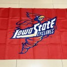 NCAA Iowa State Cyclones polyester Flag banner 3ft*5ft