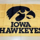 NCAA Iowa Hawkeyes Team polyester Flag banner 3ft*5ft
