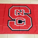 NCAA NC State Wolfpack polyester Flag banner 3ft*5ft
