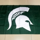 Flag of NCAA Michigan State Spartans polyester Flag banner 3ft*5ft
