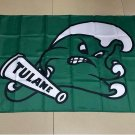 Flag of NCAA Tulane Green Wave polyester Flag banner 3ft*5ft
