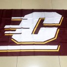 NCAA Central Michigan Chippewas polyester Flag banner 3ft*5ft