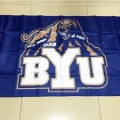 NCAA BYU Cougars Team polyester Flag banner 3ft*5ft