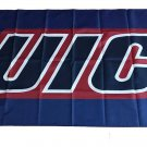 Flag of NCAA UIC Flames Newly polyester Flag banner 3ft*5ft