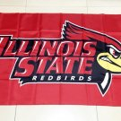 NCAA Illinois State Redbirds polyester Flag banner 3ft*5ft