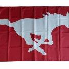 USA SMU Mustangs polyester Flag banner 3ft*5ft