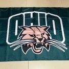 Flag of NCAA Ohio Bobcats polyester Flag banner 3ft*5ft