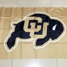 Flag of NCAA Colorado Buffaloes Newly polyester Flag banner 3ft*5ft