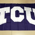 Flag of NCAA TCU Horned Frogs polyester Flag banner 3ft*5ft