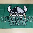 Flag of NCAA Cleveland State Vikings polyester Flag banner 3ft*5ft
