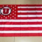NCAA Utah Utes Flag banner 3ft*5ft