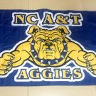 NCAA North Carolina A&T Aggies polyester Flag banner 3ft*5ft